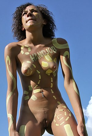 Teen Body Paint Porn Pictures